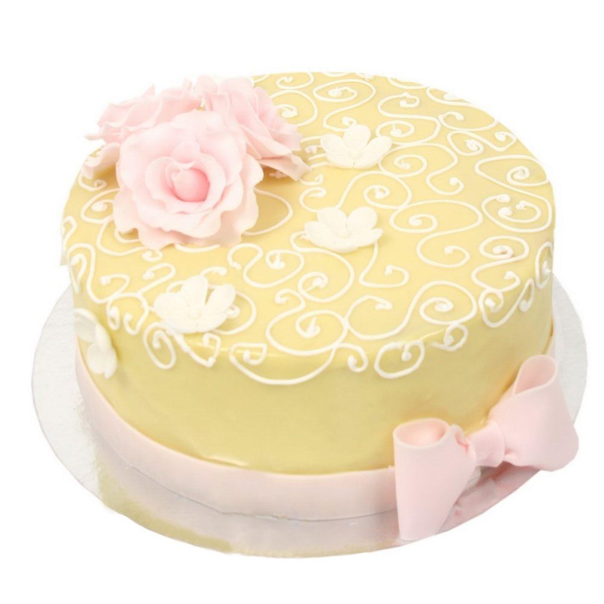 №738 Торт пионы