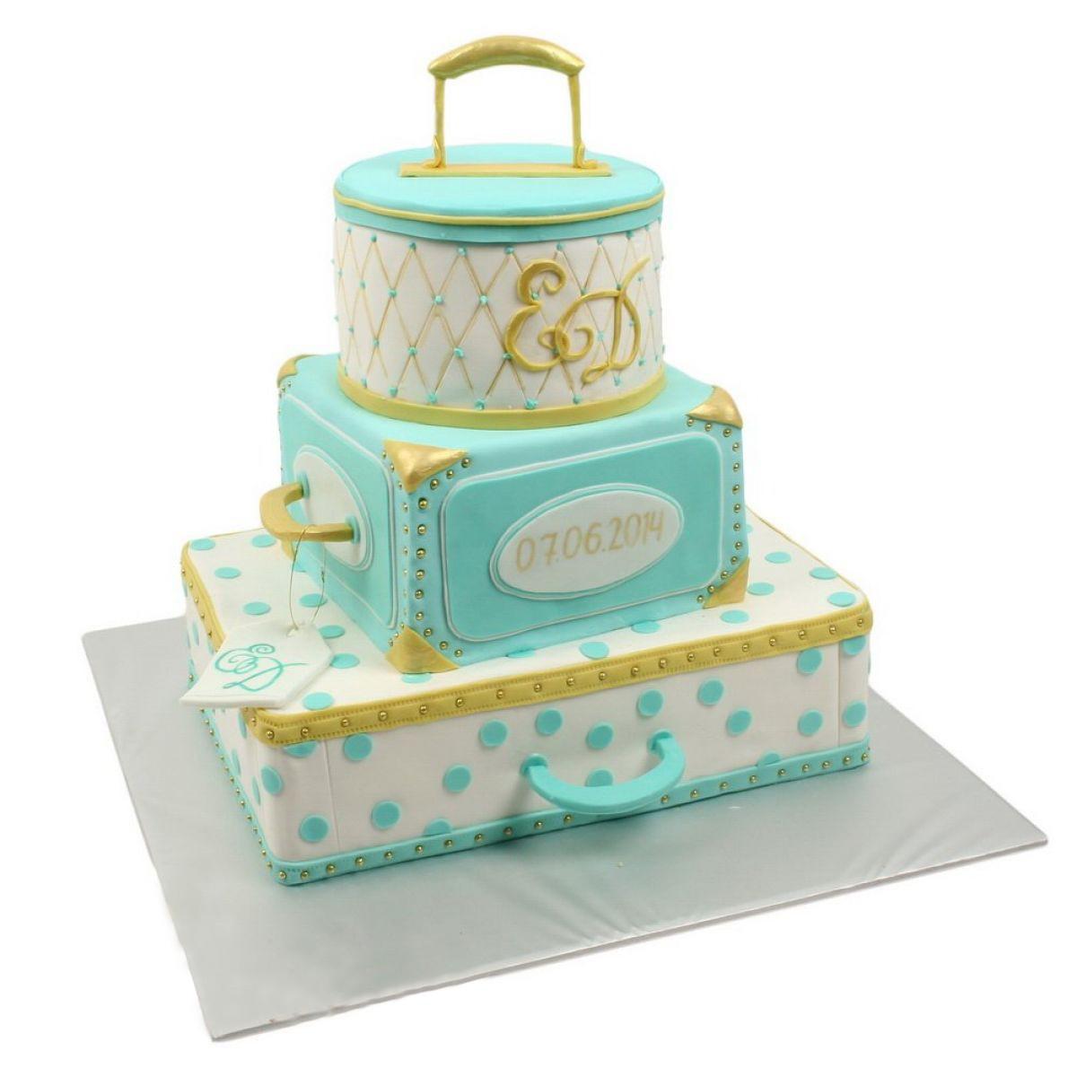 №739 Торт кружево