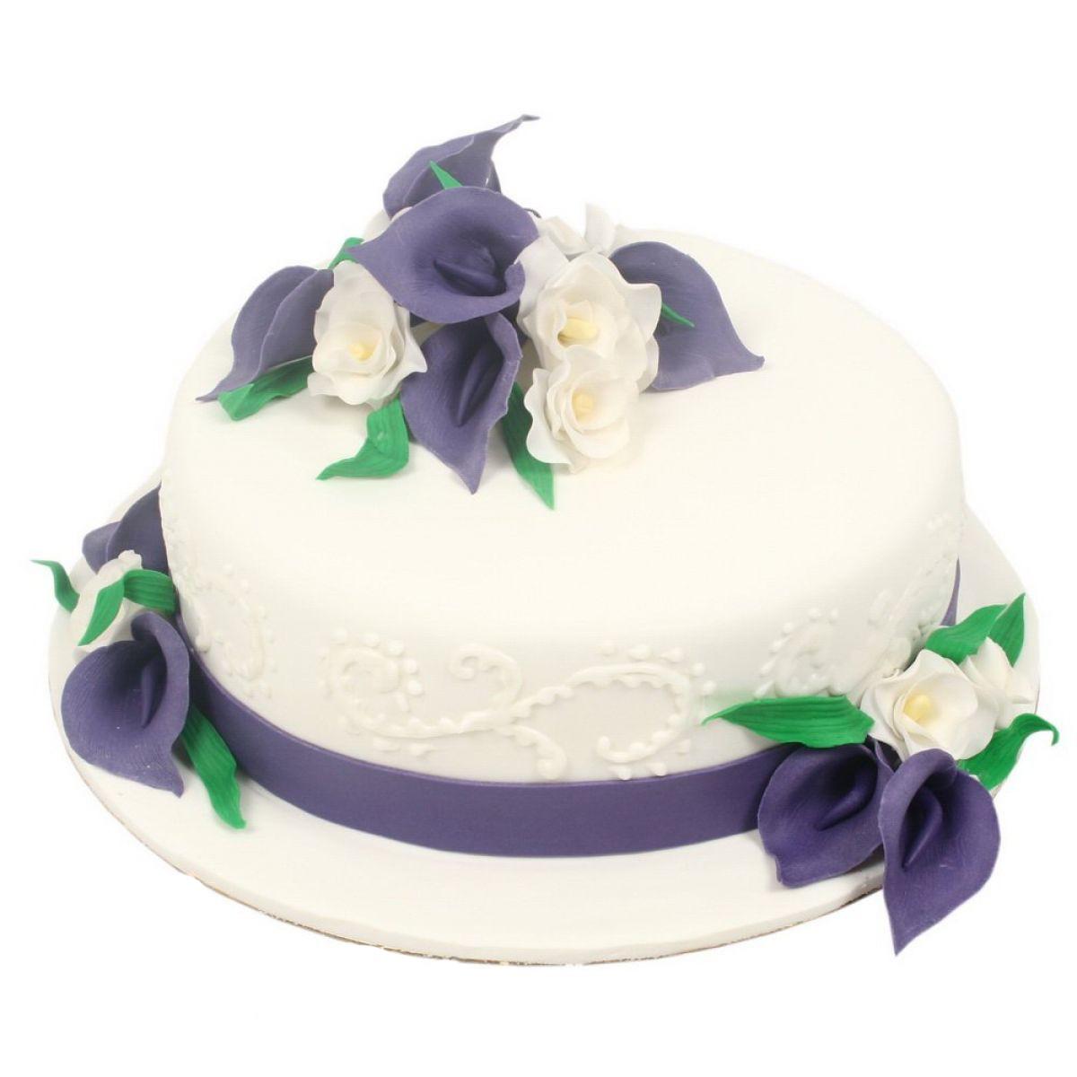 №747 Торт цветы