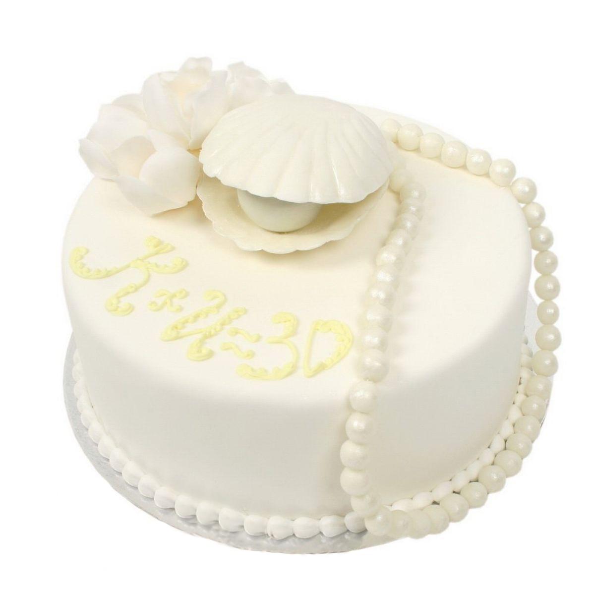 №749 Торт кружево