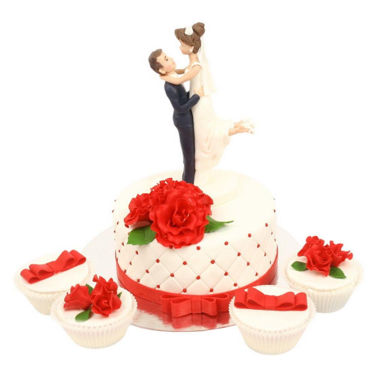 №752 Торт молодожены