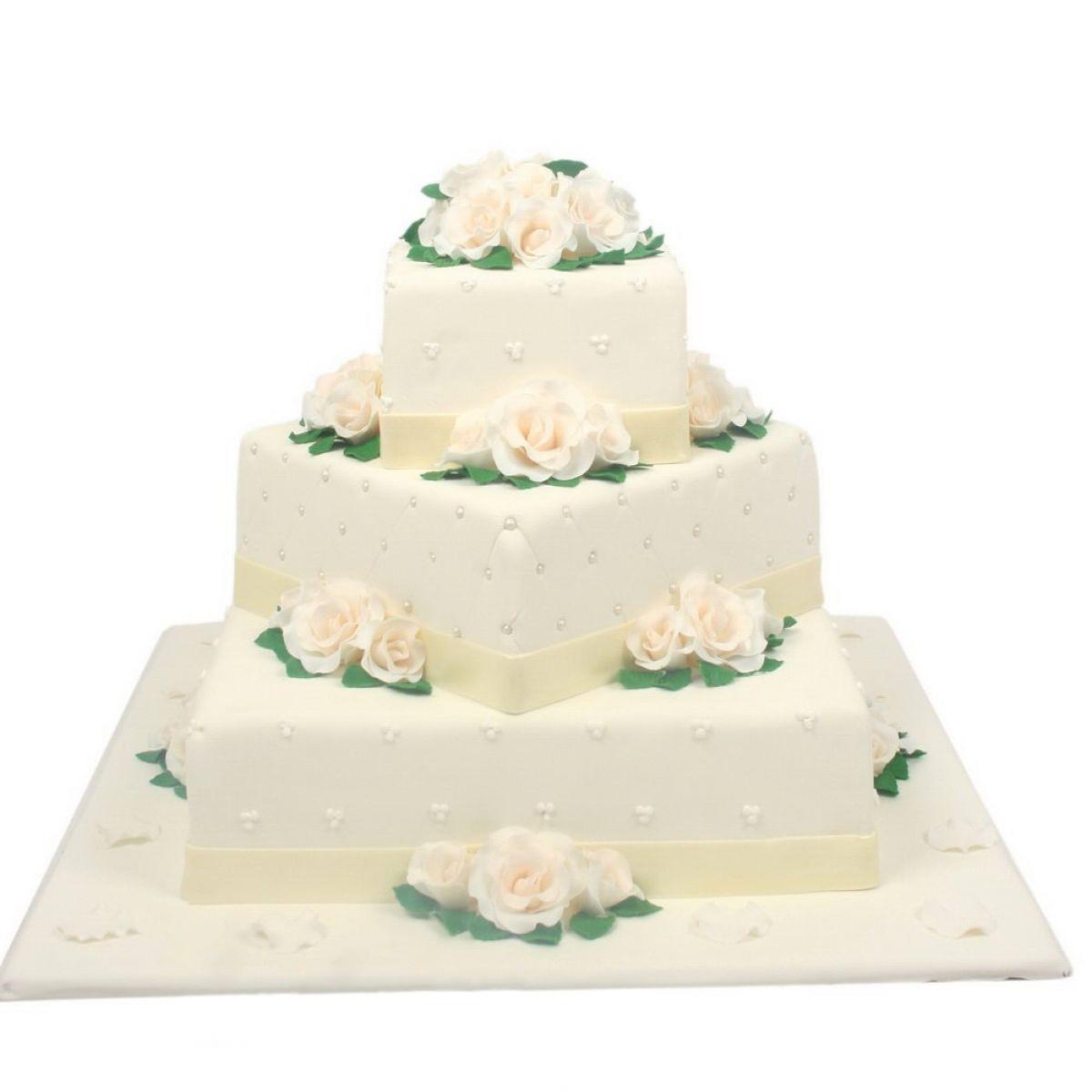 №757 Торт розы