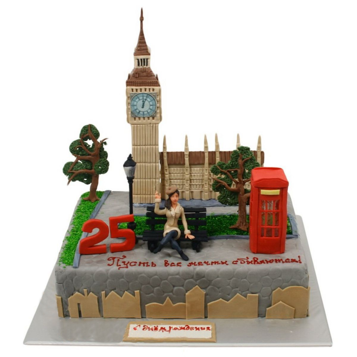 №775 Торт лондон