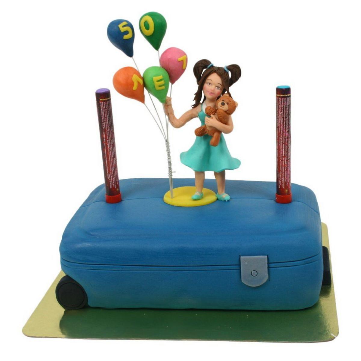 №782 Торт чемодан