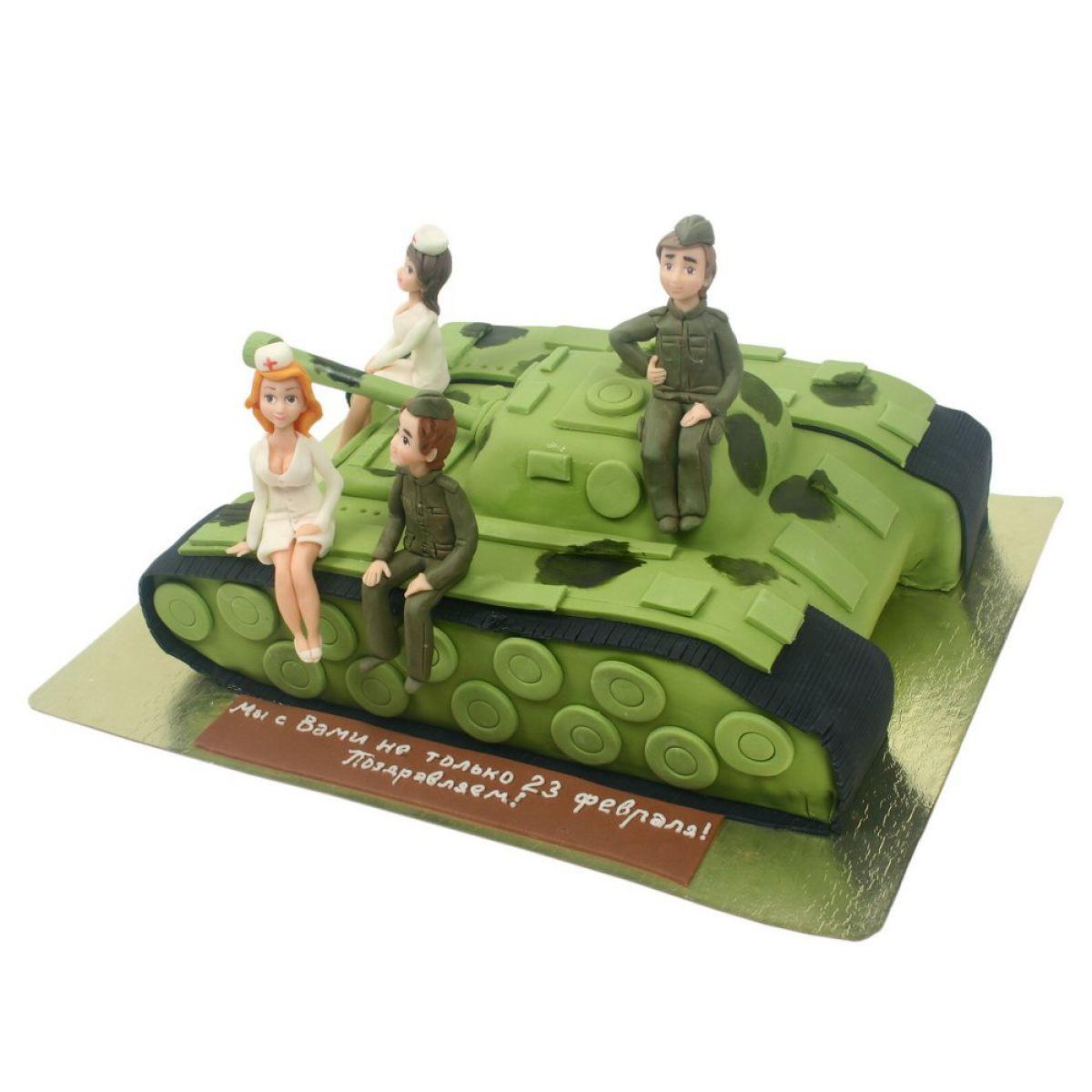 №796 Торт танк