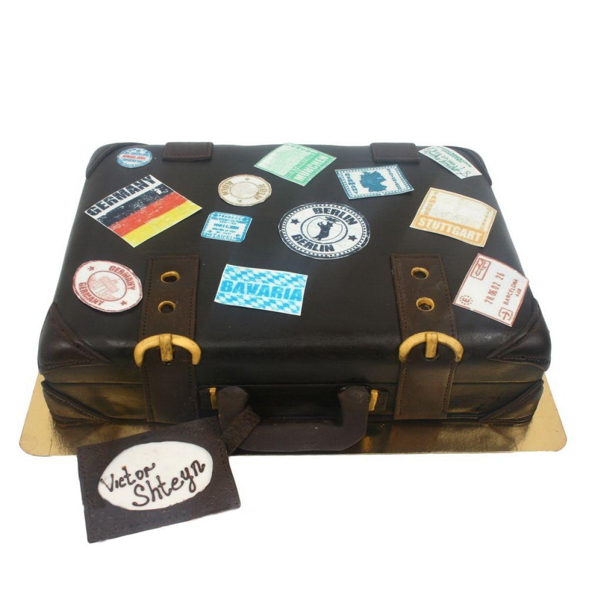 №803 Торт чемодан