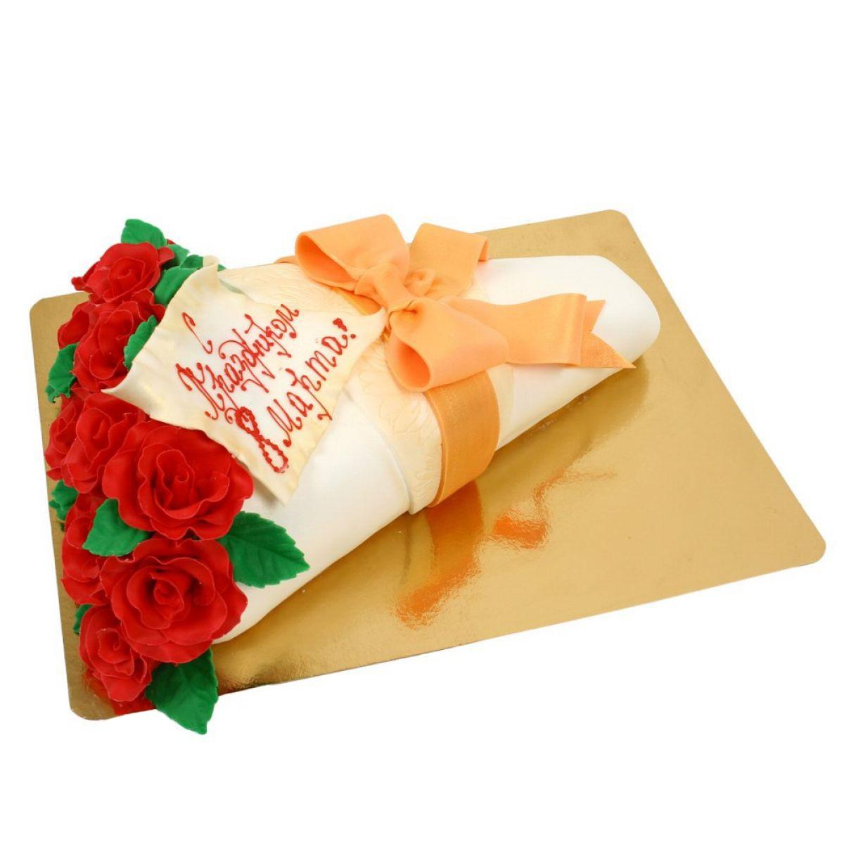 №819 Торт роза