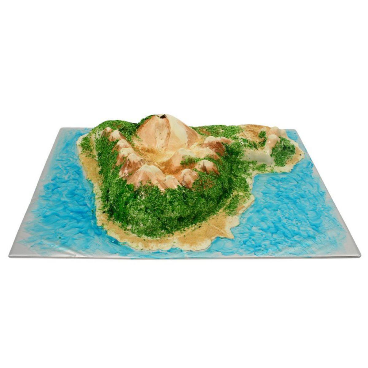 №826 Торт вулкан
