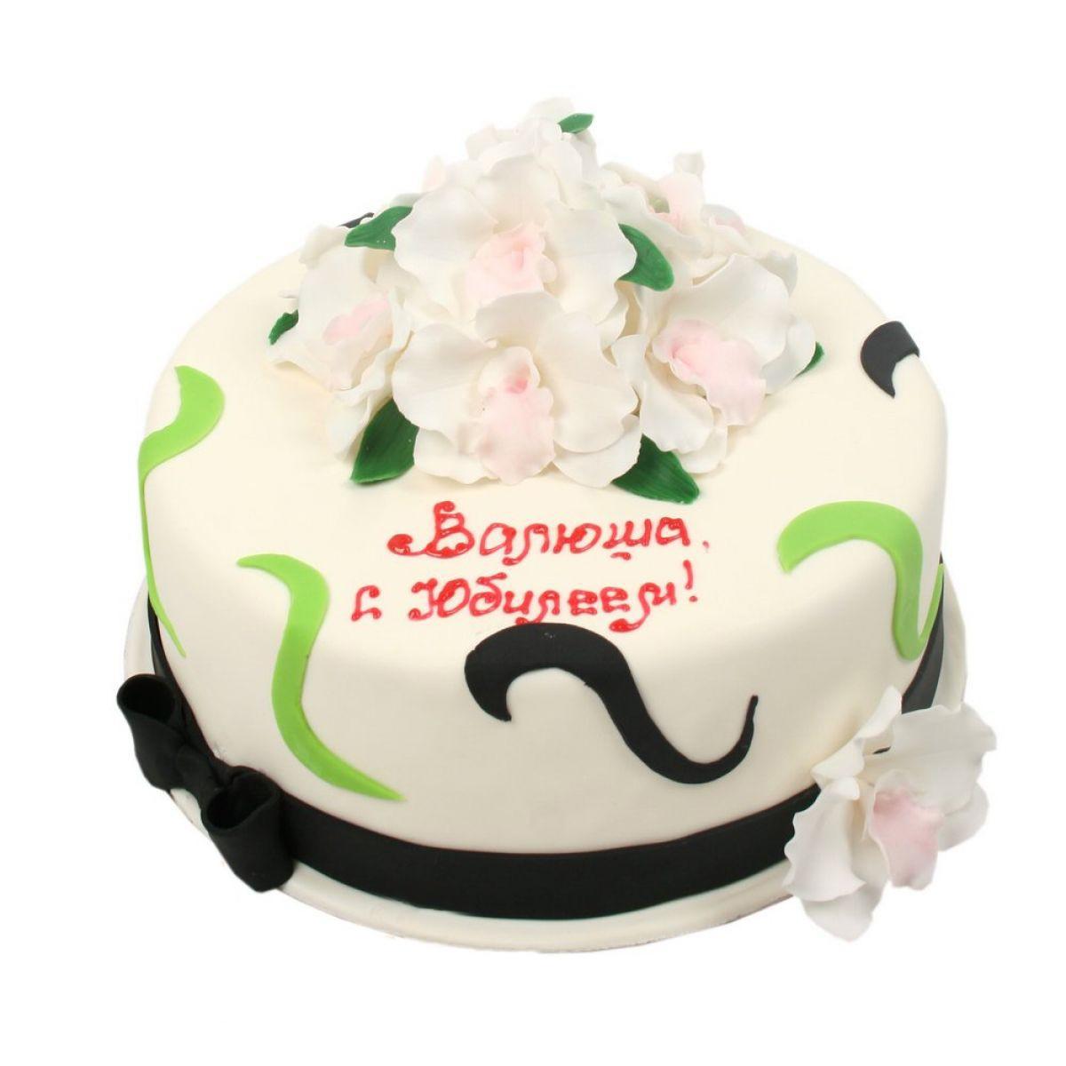 №843 Торт цветы