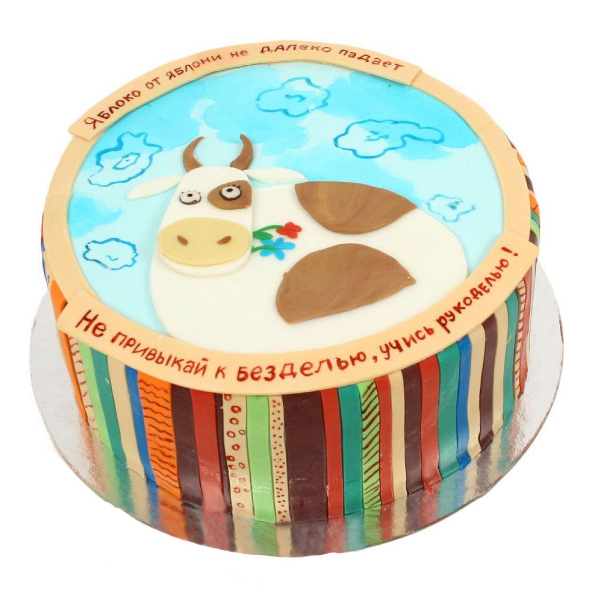 №849 Торт корова