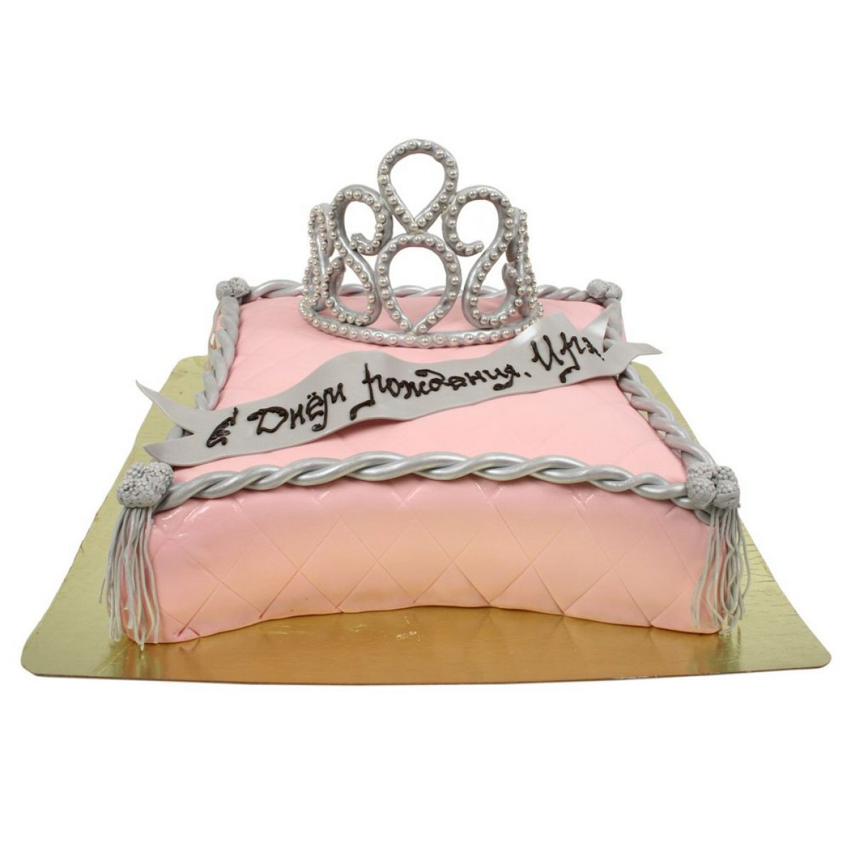 №852 Торт корона