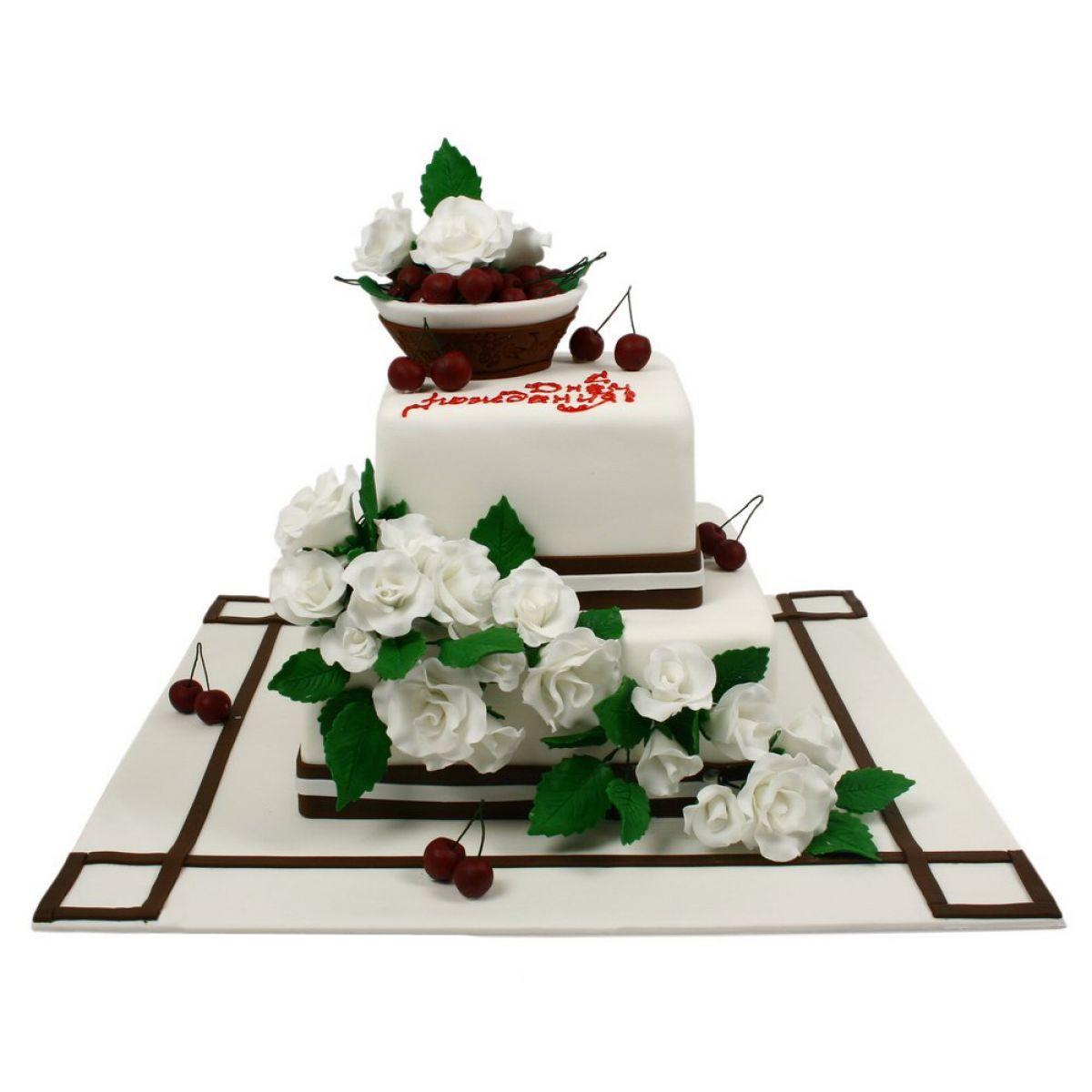 №853 Торт вишня