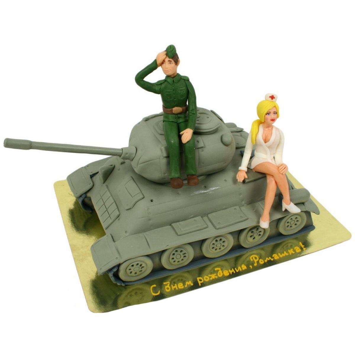 №854 Торт танкист