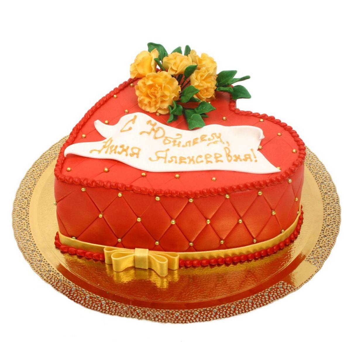 №866 Торт сердце