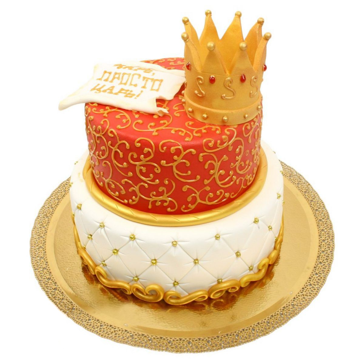 №869 Торт корона