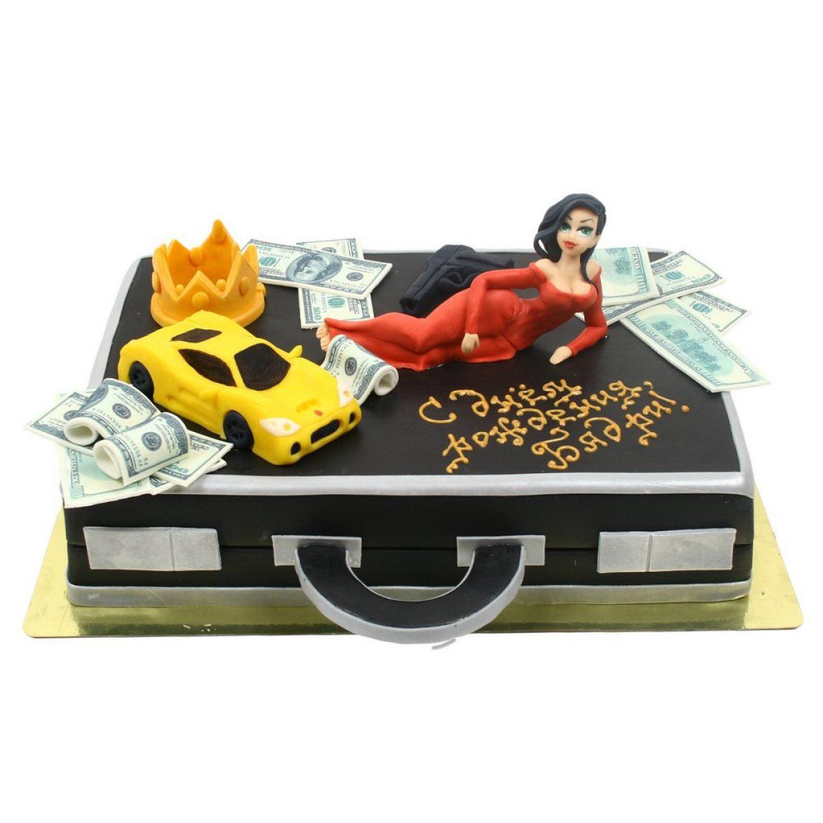 №884 Торт деньги