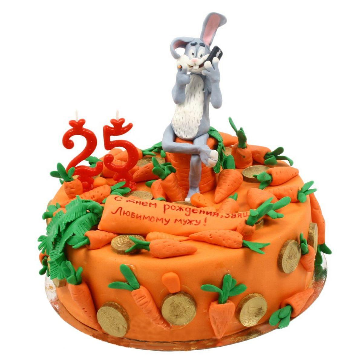 №886 Торт морковь