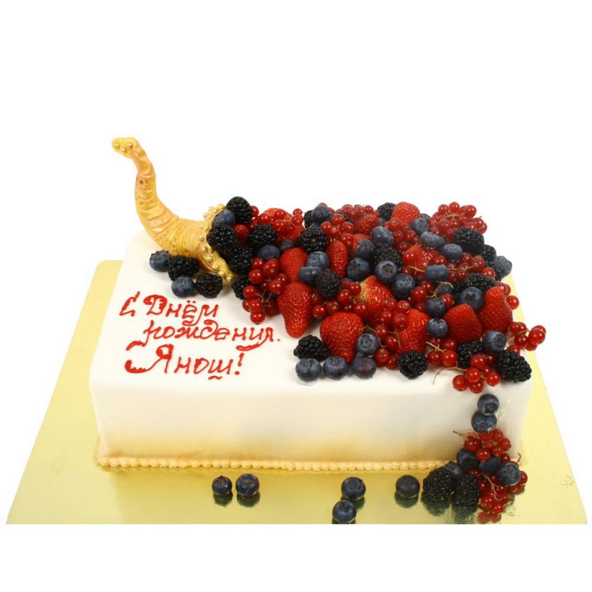 №890 Торт ягоды