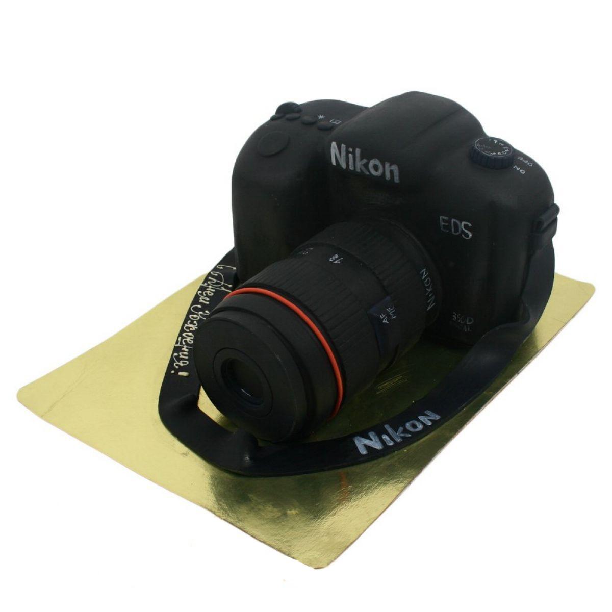 №903 Торт фотоаппарат