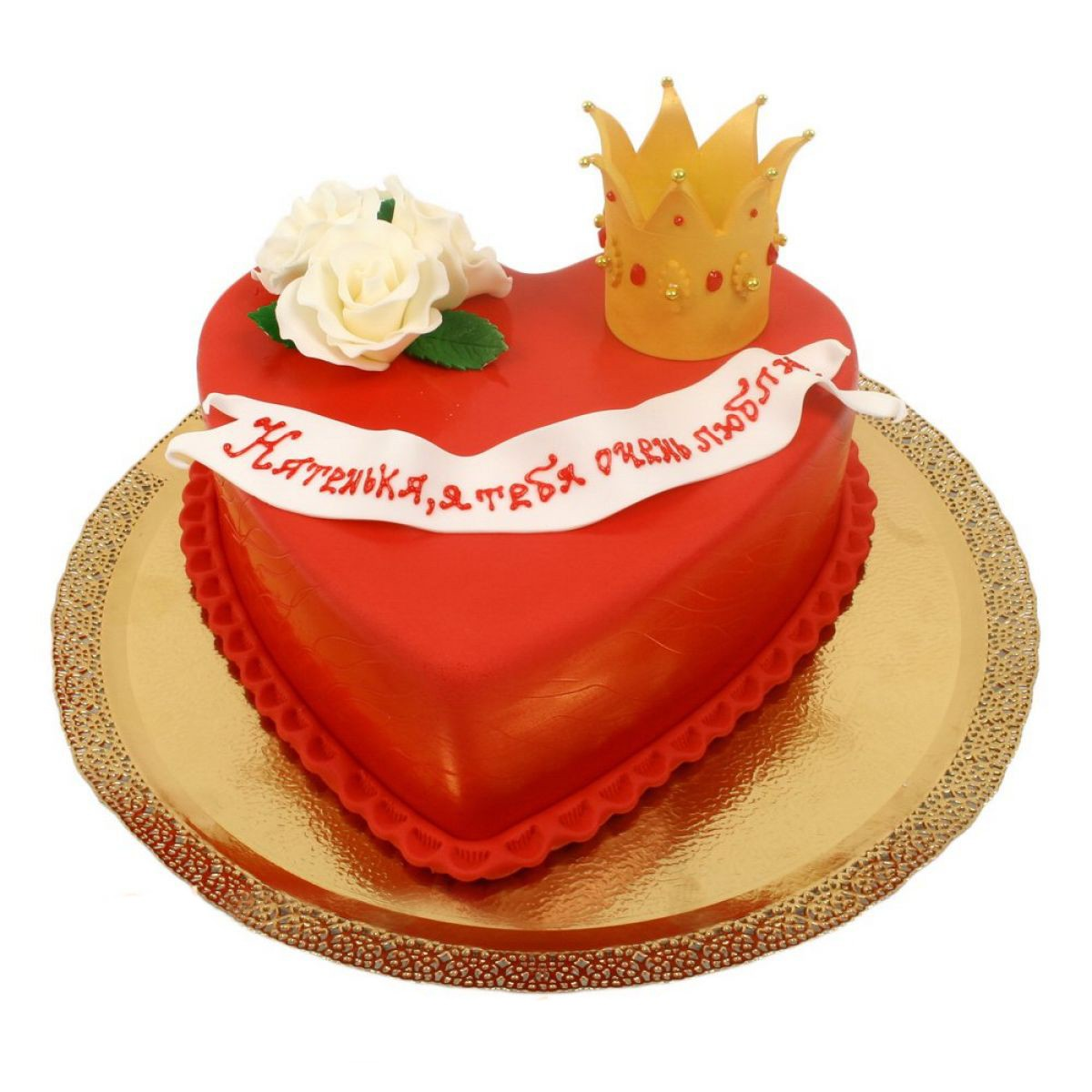 №905 Торт сердце