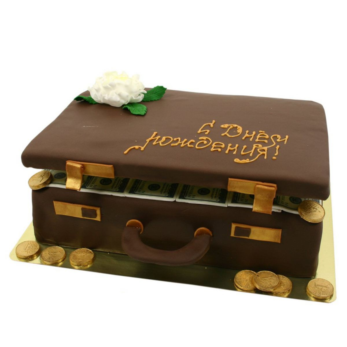 №913 Торт чемодан