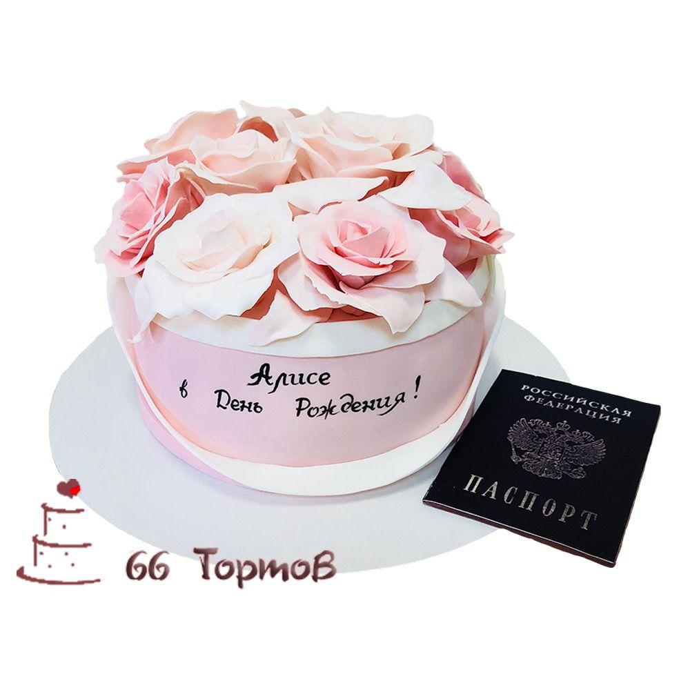 №92 Торт розы