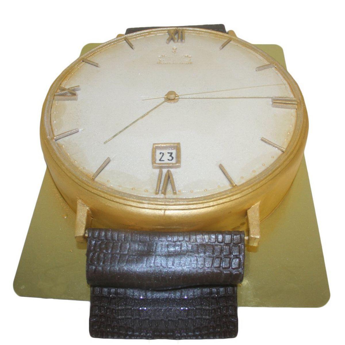 №956 Торт часы