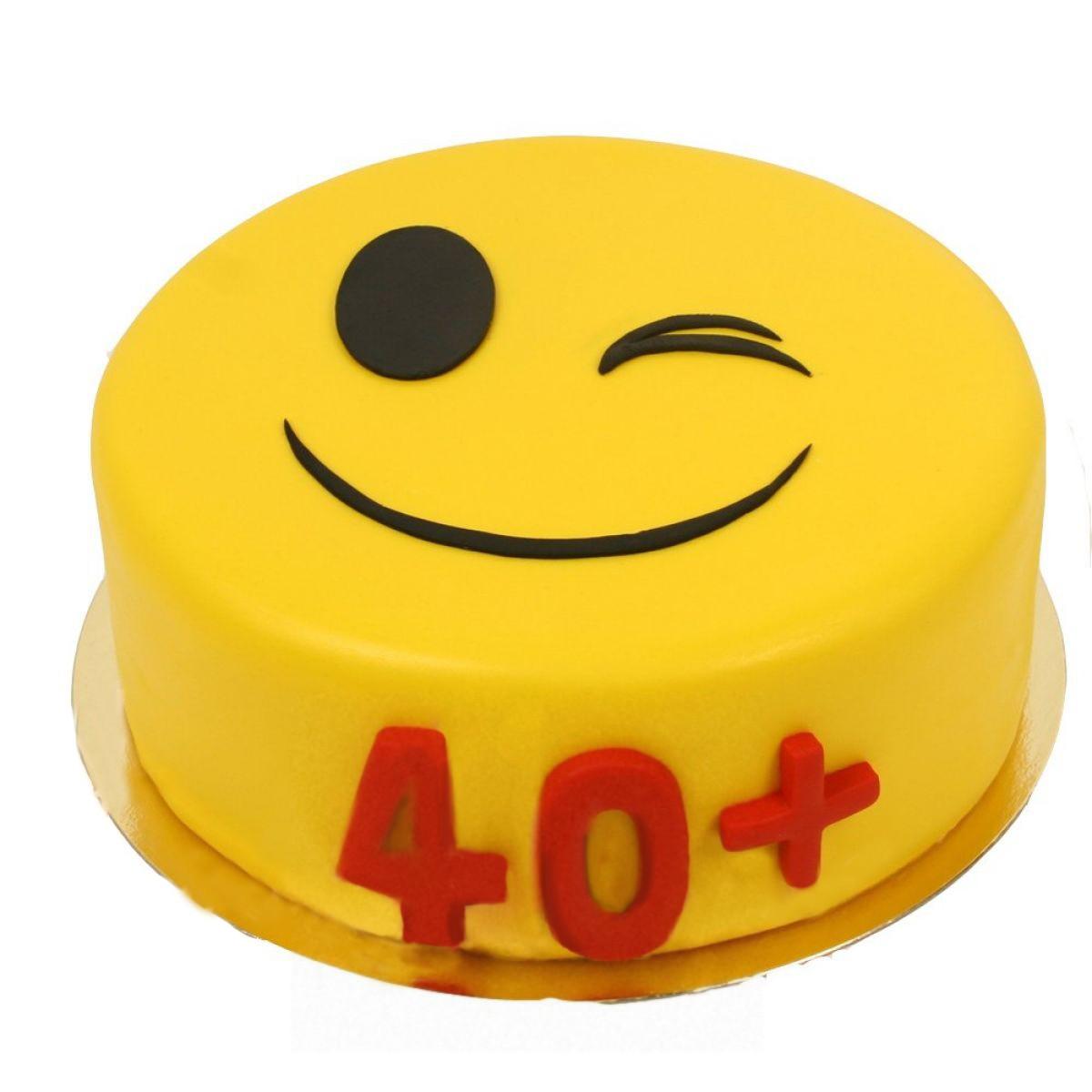 №965 Торт смайлик