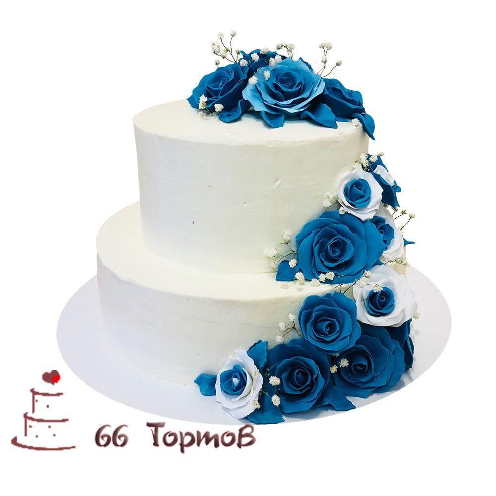 №97 Торт цветы