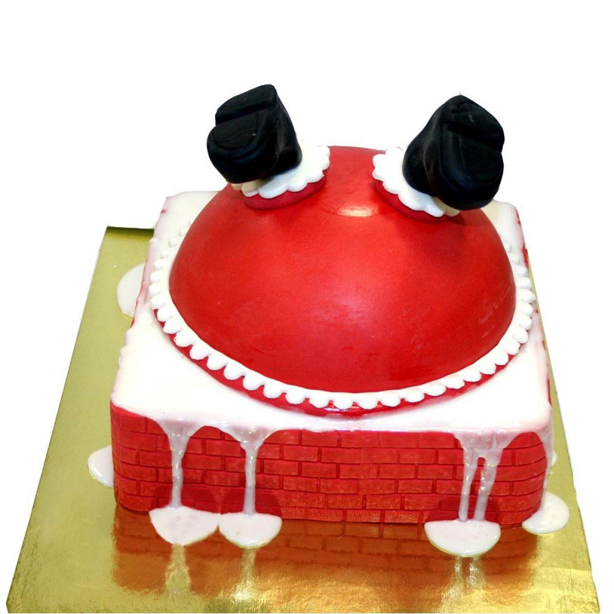 №997 Торт новый год