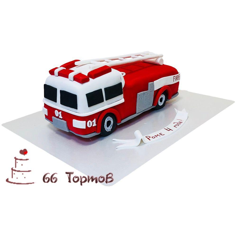 №100 Торт для пожарника