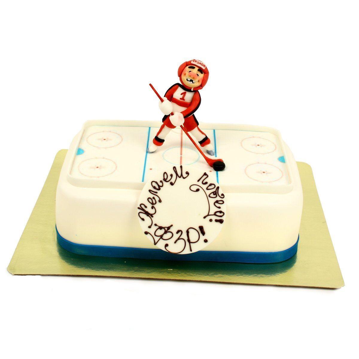 №1022 Торт хоккеист