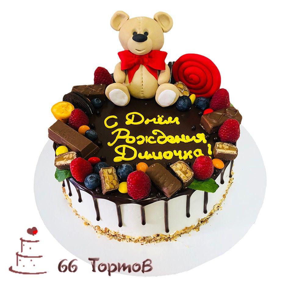 №105 Торт с мишкой
