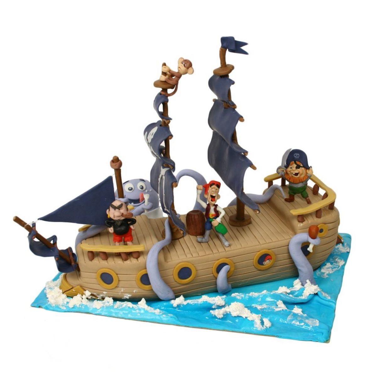 №1050 Торт пираты