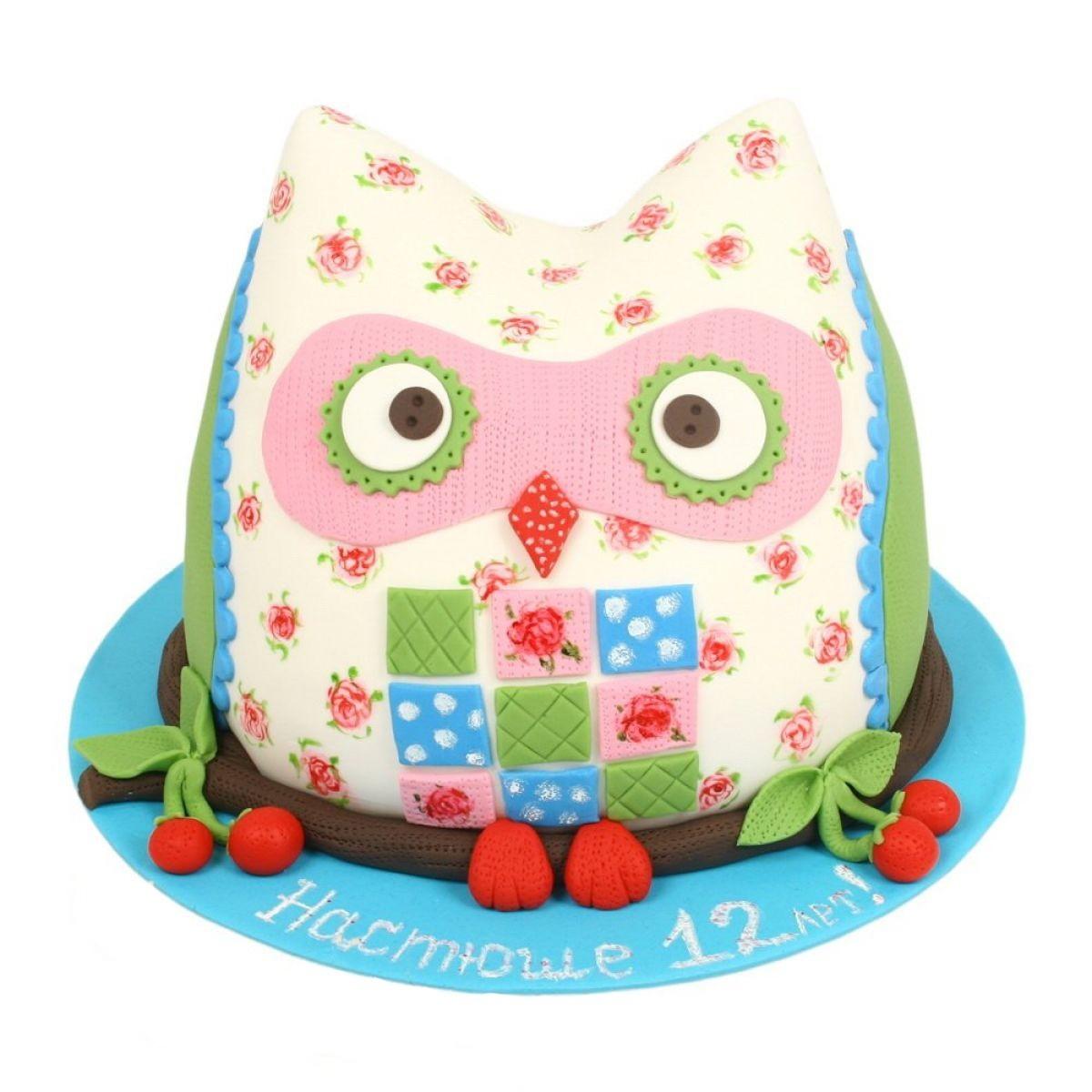 №1053 Торт сова