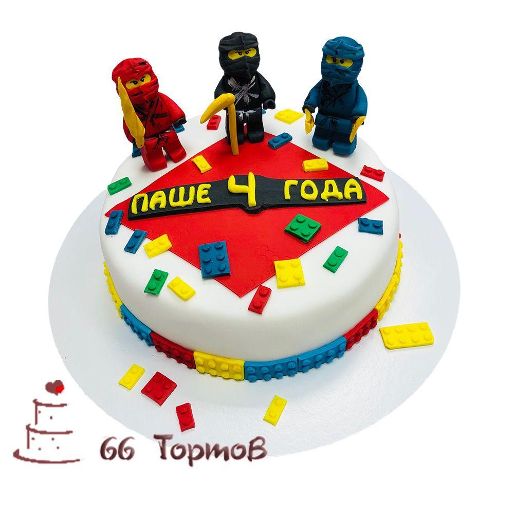 №108 Торт лего ниндзяго