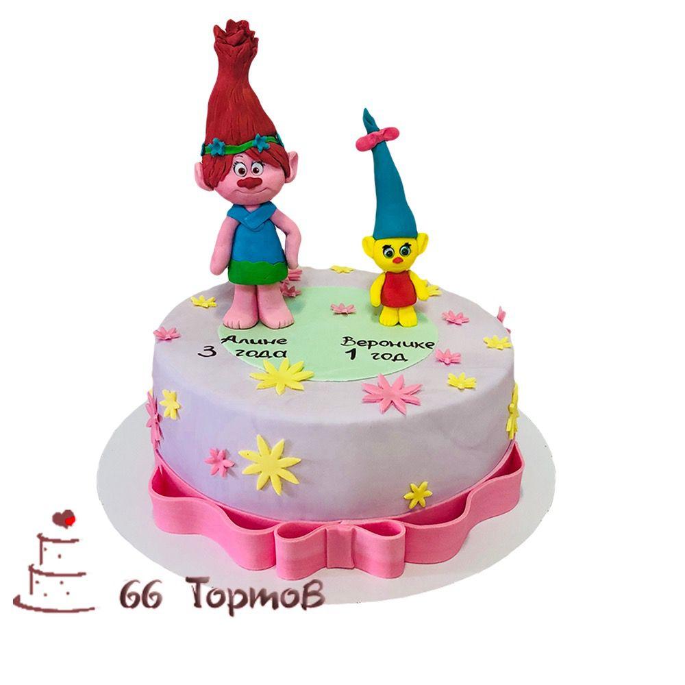 №129 Торт со смурфиками