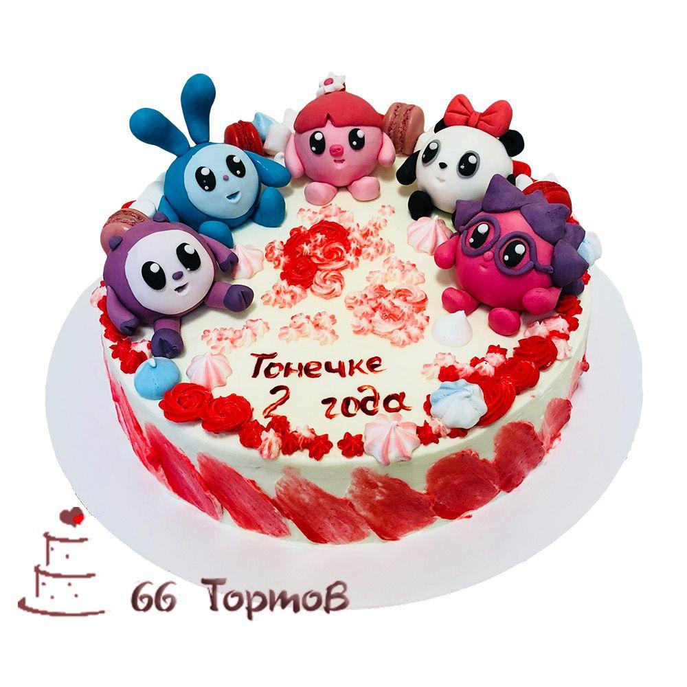 №130 Торт смешарики