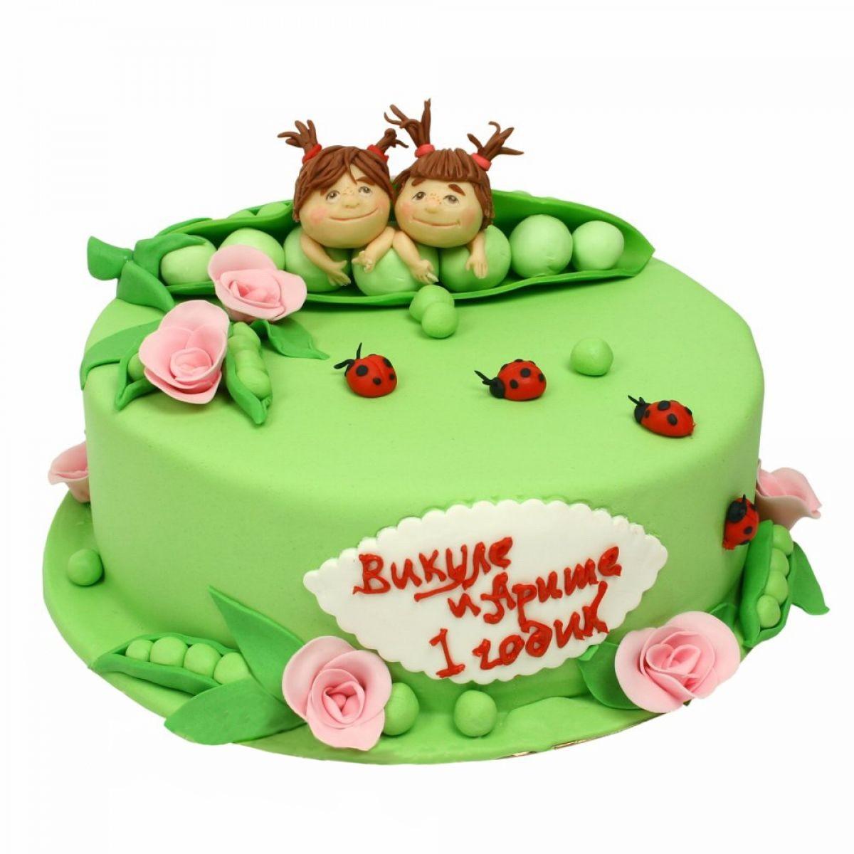 №1329 Торт горошек