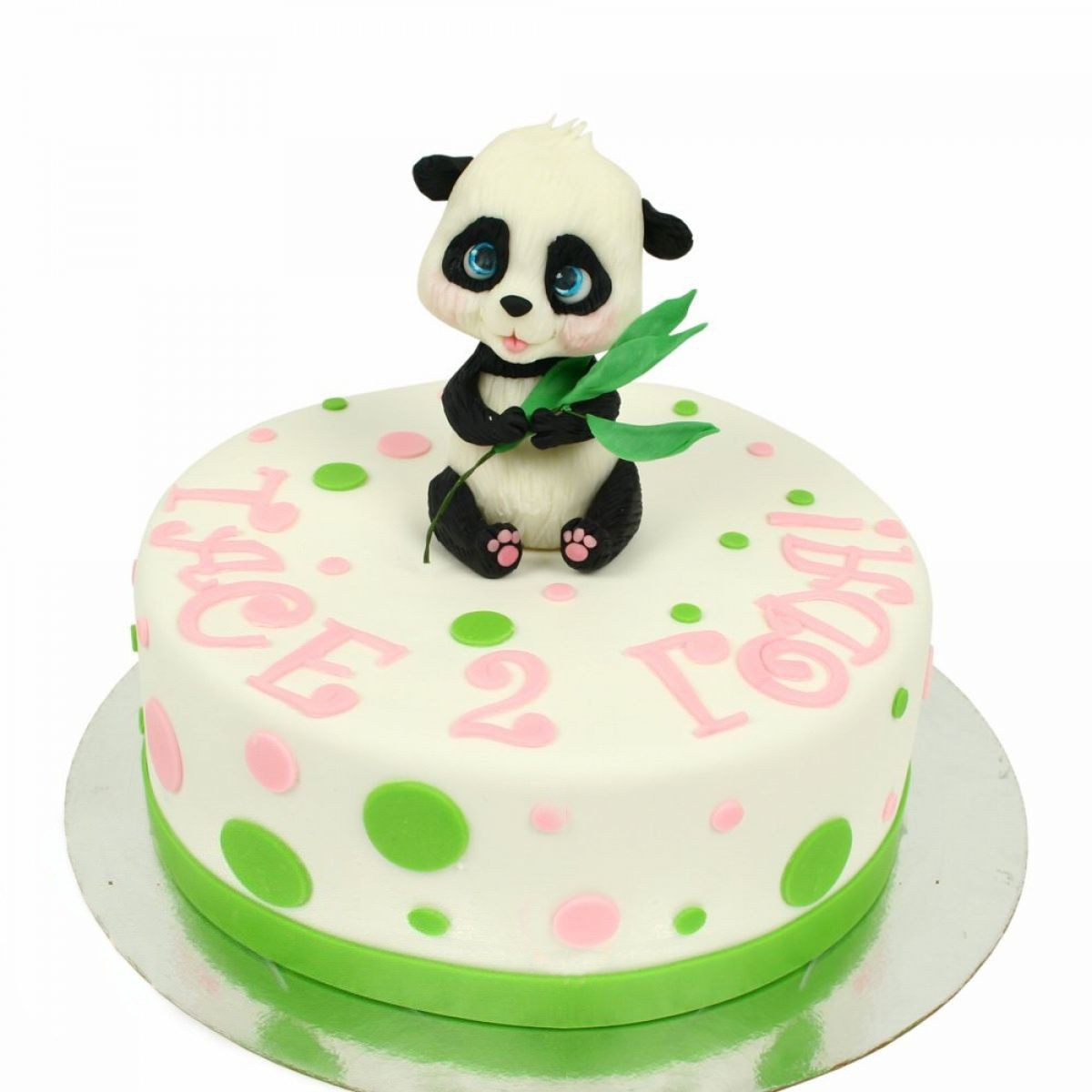 №1337 Торт панда