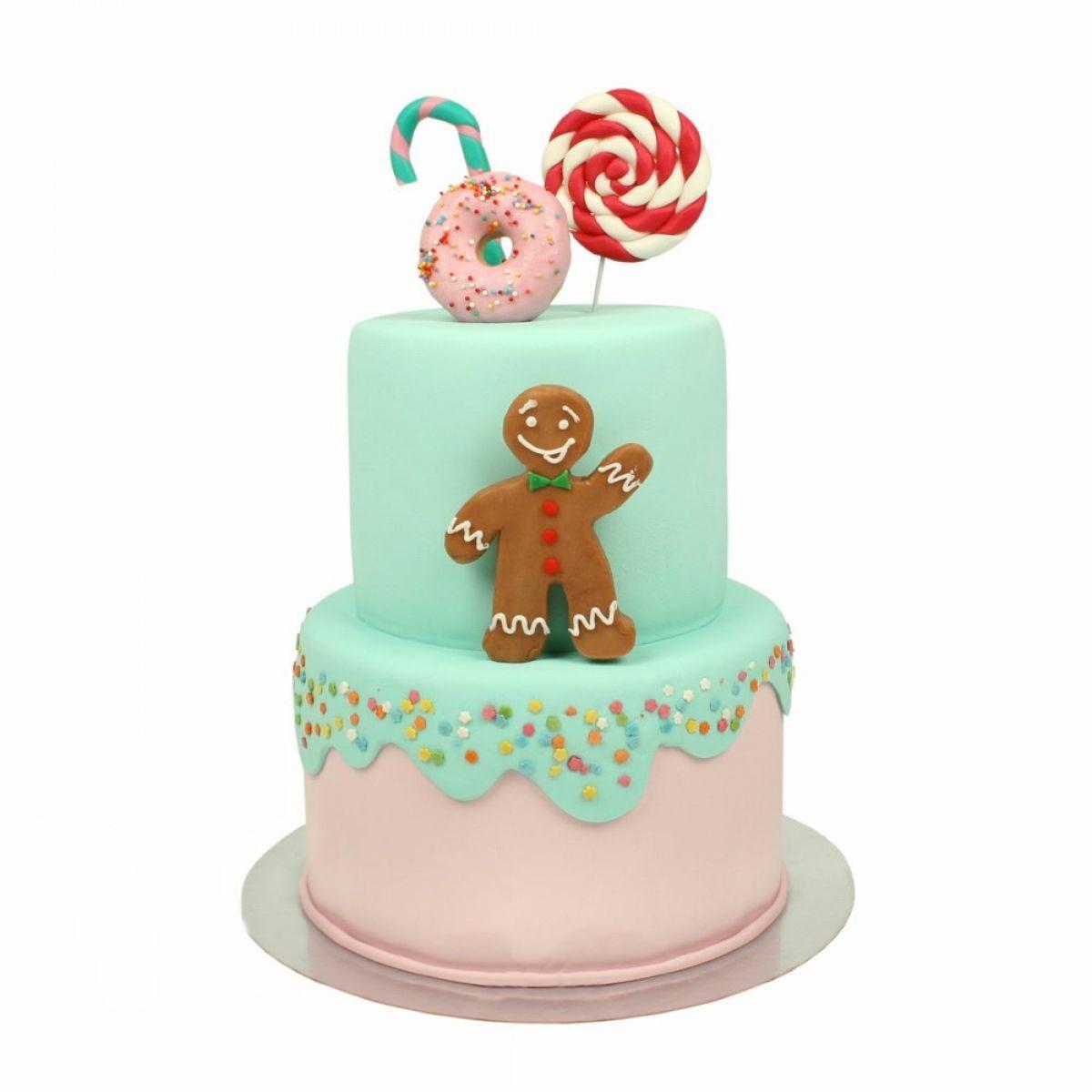 №1341 Торт веселое печенье