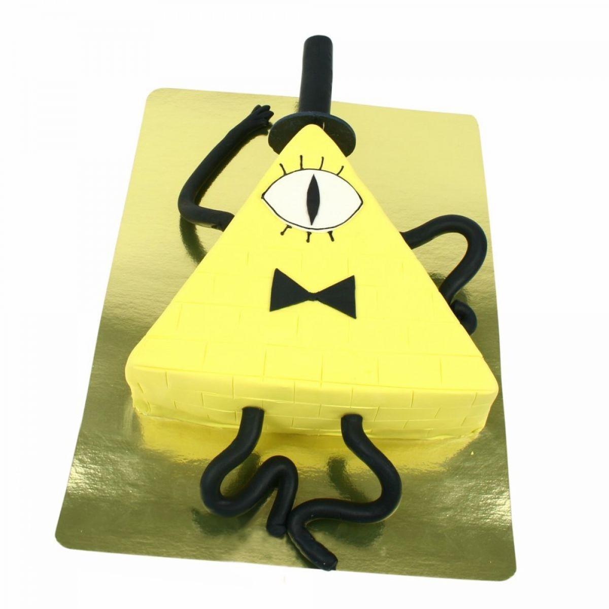 №1366 Торт пирамида