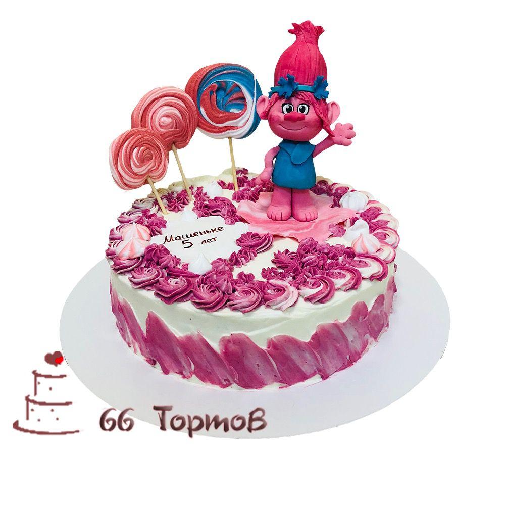 №137 Торт тролль Розочка