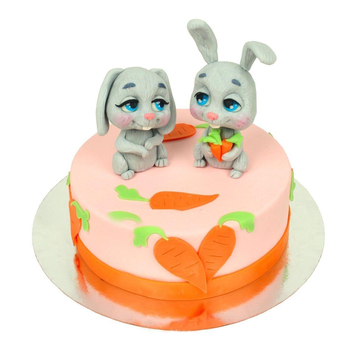 №1460 Торт зайчики