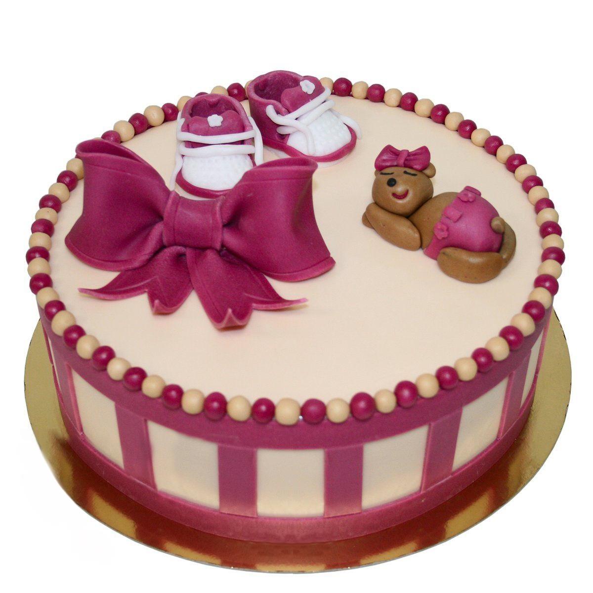 №1468 Торт розовый бант
