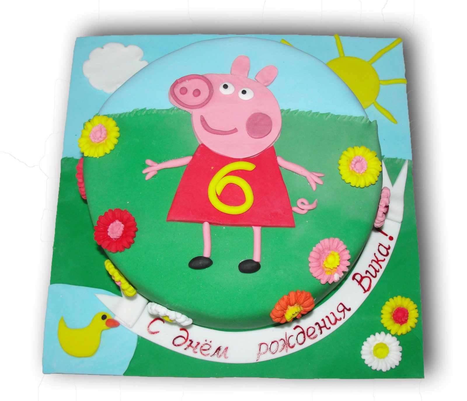 №147 Торт свинка пеппа