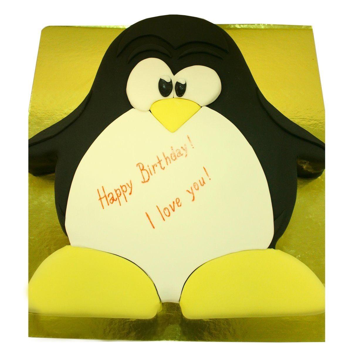 №1475 Торт пингвин