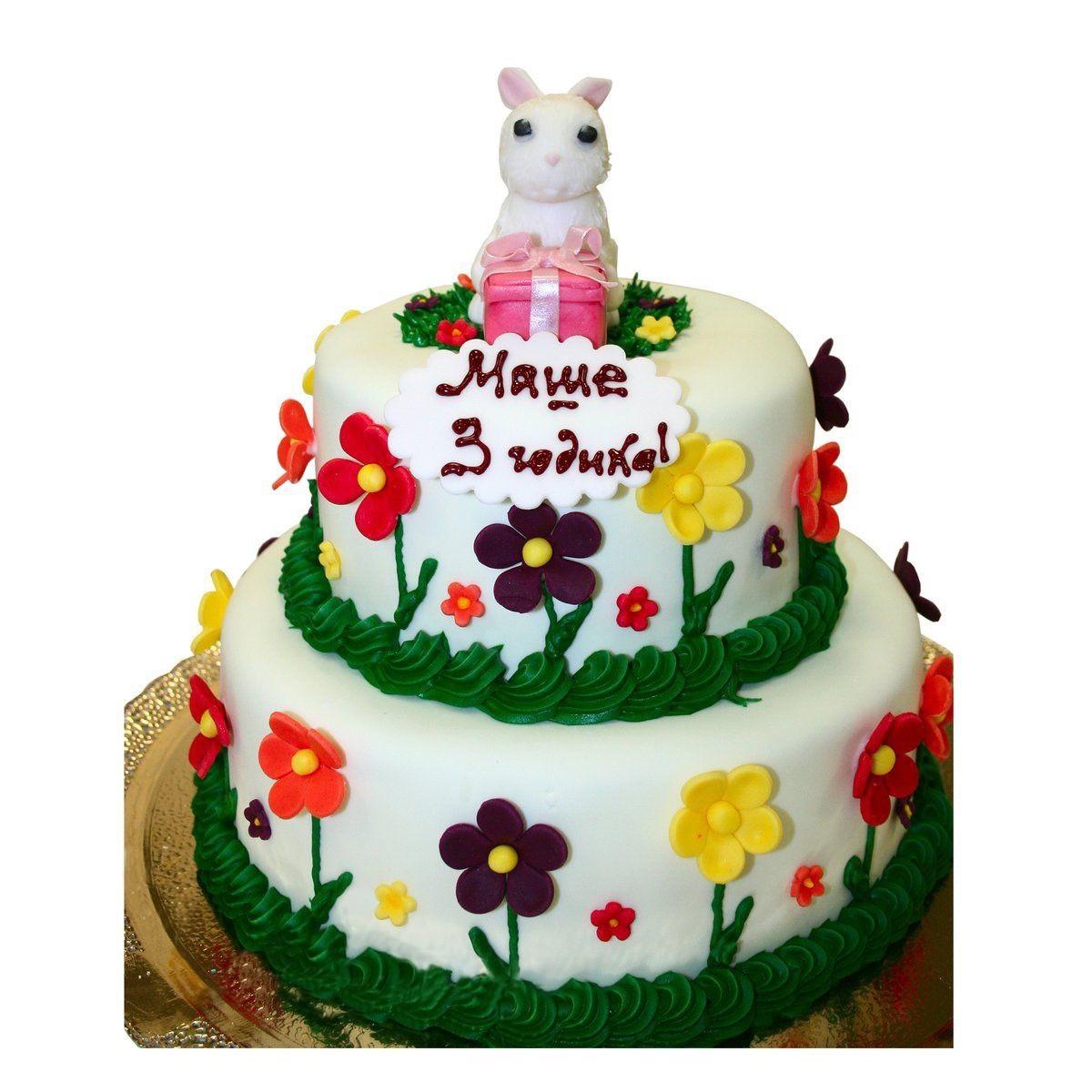 №1490 Торт цветы