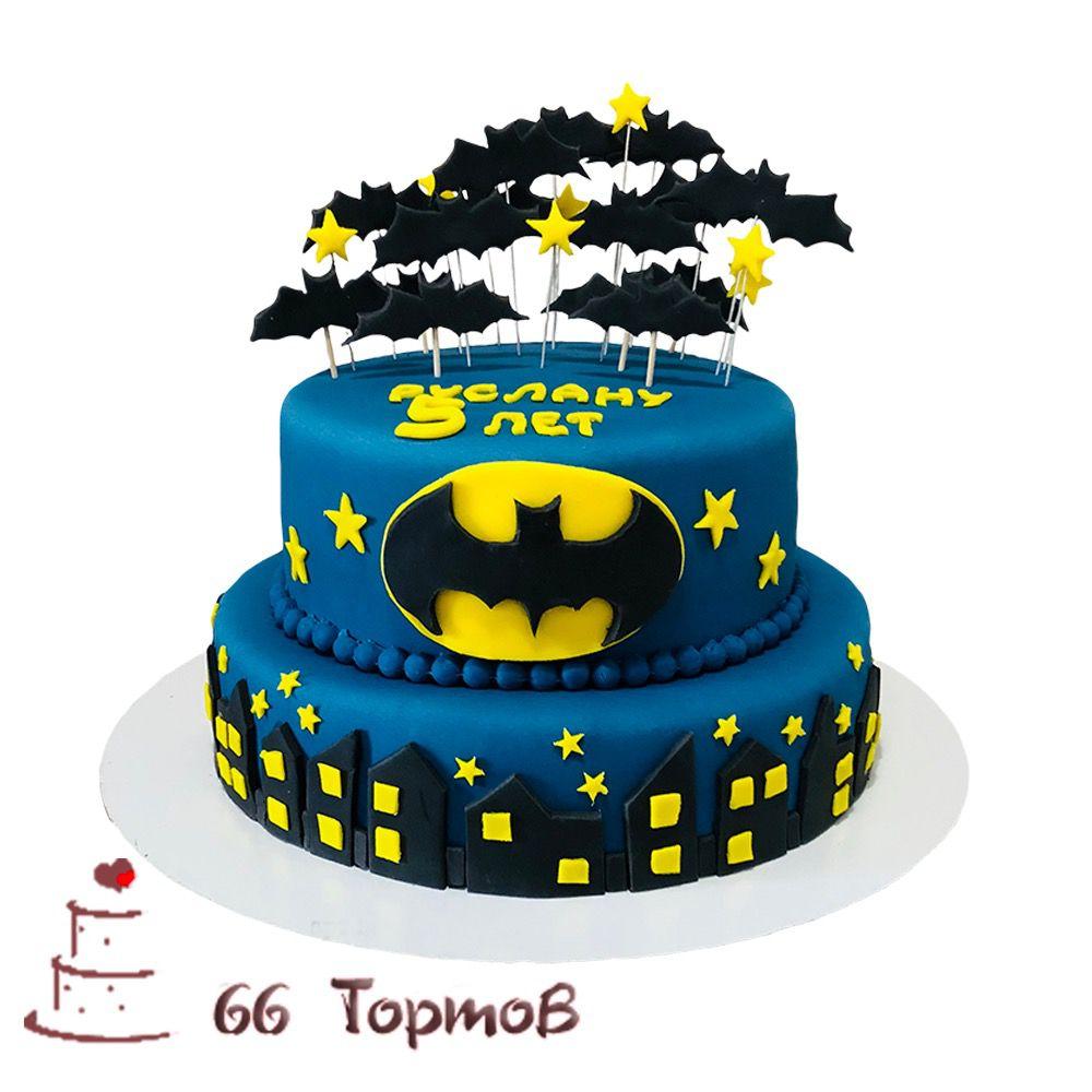 №159 Торт бетмен