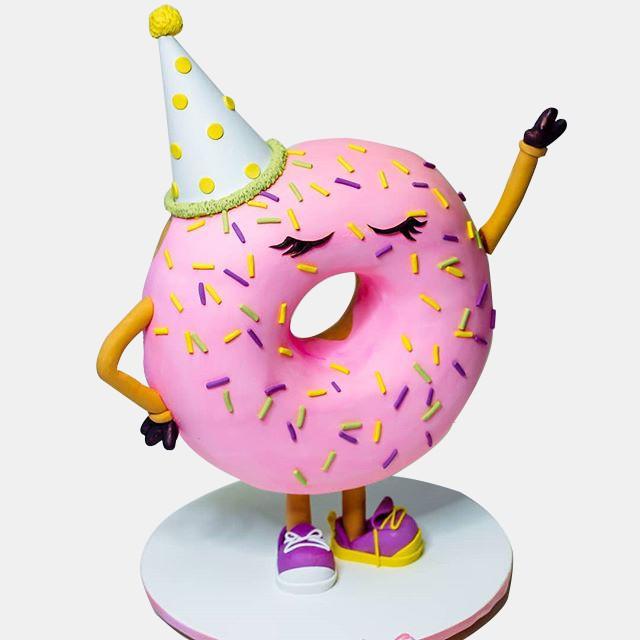 №1809 Шоу торт Пончик